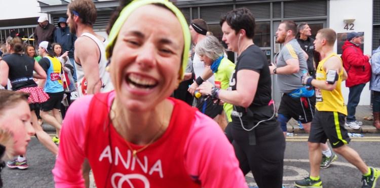 Anna Borghesani in Marathon London